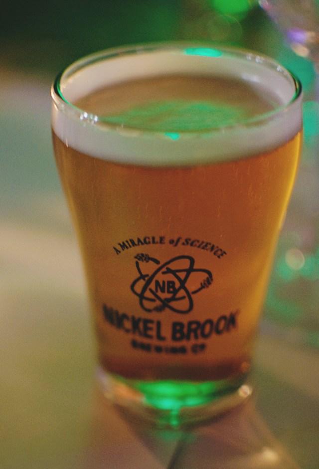 Nickel Brook beer. Photo by Lisa Vuyk