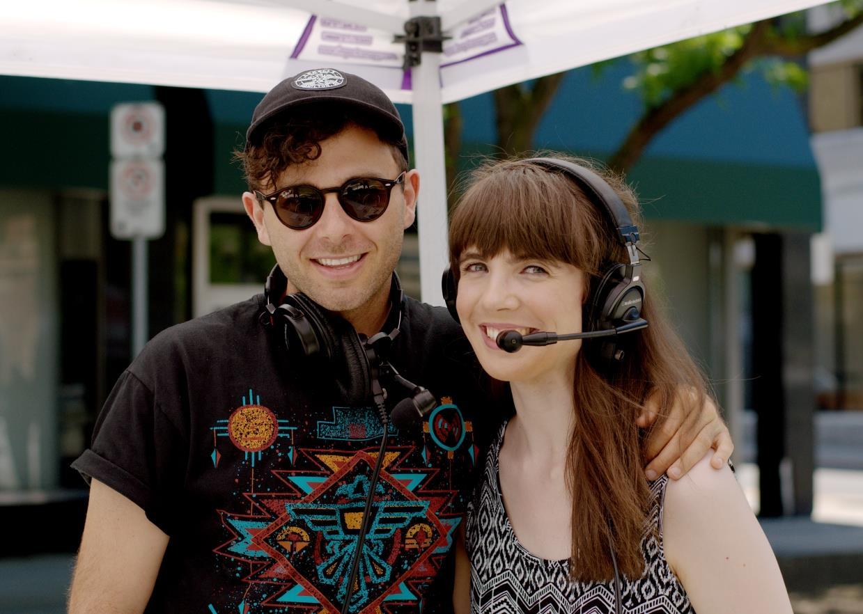 Max Kerman and Kristin Archer.