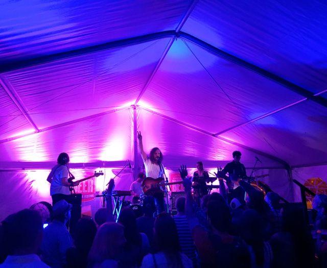 Yukon Blonde performing at Because Beer 2016