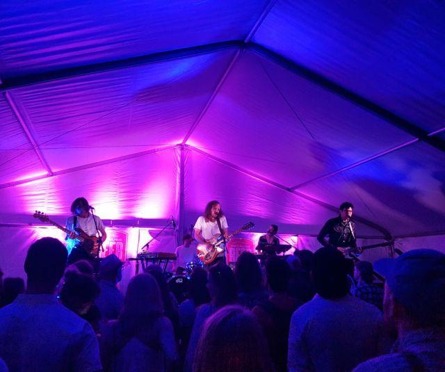 Yukon Blonde performing at Because Beer