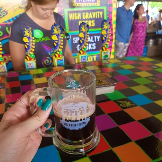Flying Monkeys' Viva Puff beer