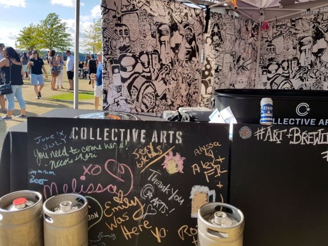 Collective Arts Brewing at Because Beer 2016