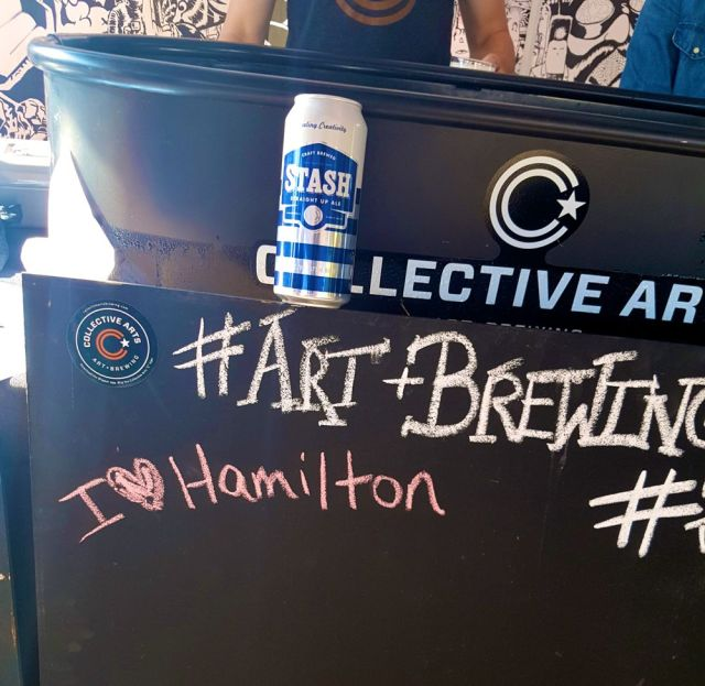 Collective Arts Brewing at Because Beer