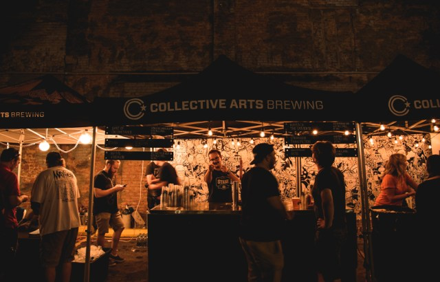 Collective Arts beer garden at Supercrawl 2016. Photo by Lisa Vuyk