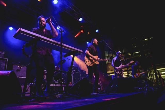 The Reason performing at Supercrawl 2016