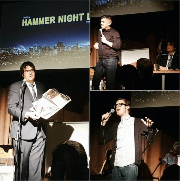 Matthew Surina, Zak McDonlad, Kev Sheeler at Hammer Night Live