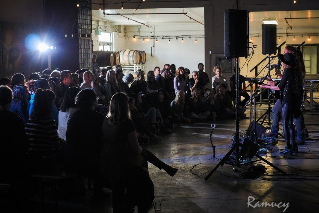 The Redhill Valleys performing at Sofar Sounds