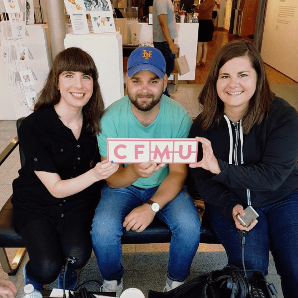 Kristin Archer, Thomas Allen and Biljana Njegovan of The Inlet during Supercrawl 2017