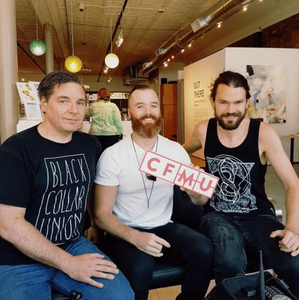 Rob Wolanski and Black Collar Union during Supercrawl 2017