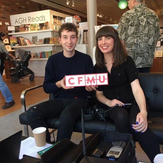 Dan Edmonds and Kristin Archer. Photo courtesy of 93.3 CFMU