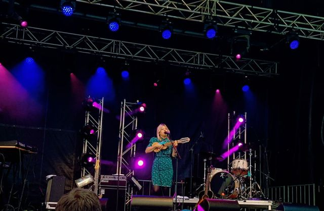 Basia Bulat at Supercrawl 2017