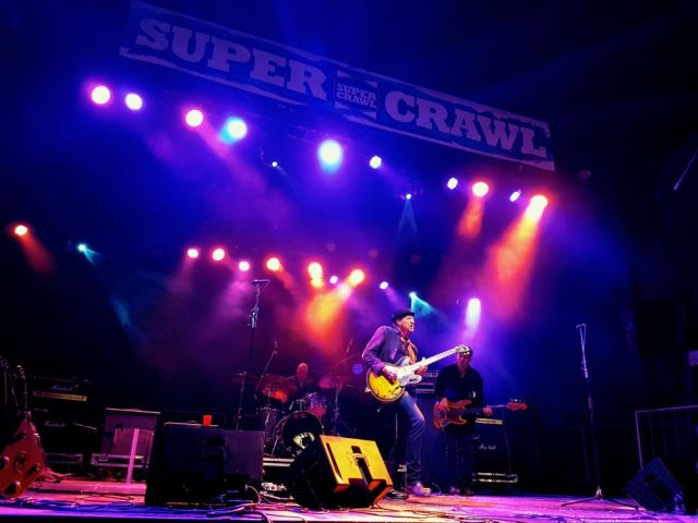 Steve Strongman at Supercrawl 2017