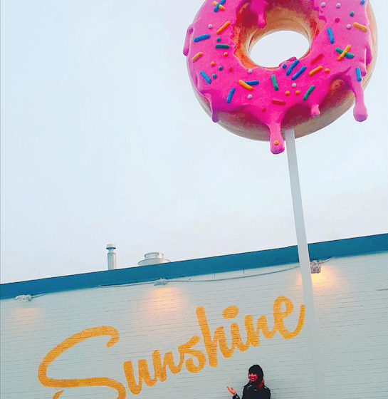Sunshine Doughnuts, Burlington. Photo by Luisa Falletta-Caravasso