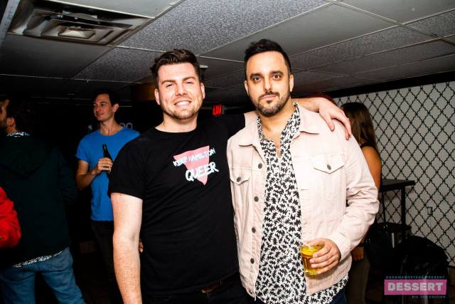 Adam and Steve at Absinthe. Photo by Kieran Noble.