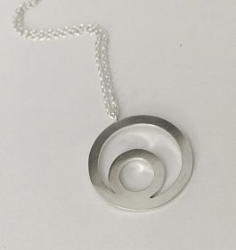 Geometric Circles Necklace