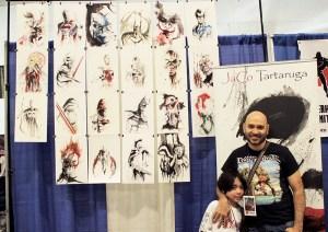 JaCo_Tartaruga at the Hudson Valley Comic Con 2019