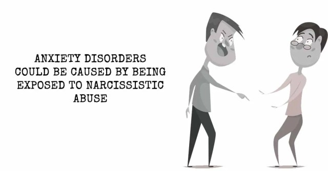 Image result for Anxiety Disorders typically caused by exposure to Narcissistic Abuse