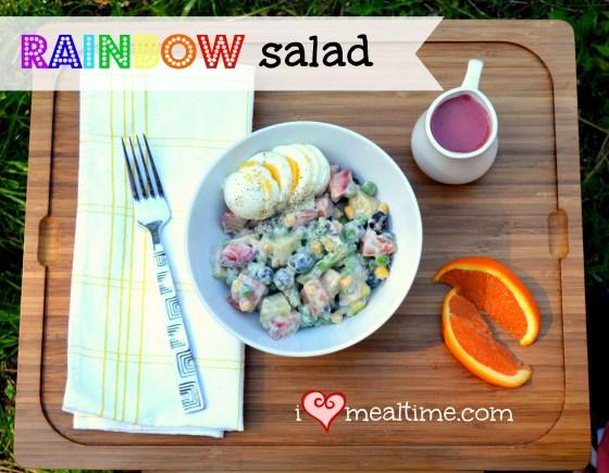 Fresh Fruit and Vegetable Salad