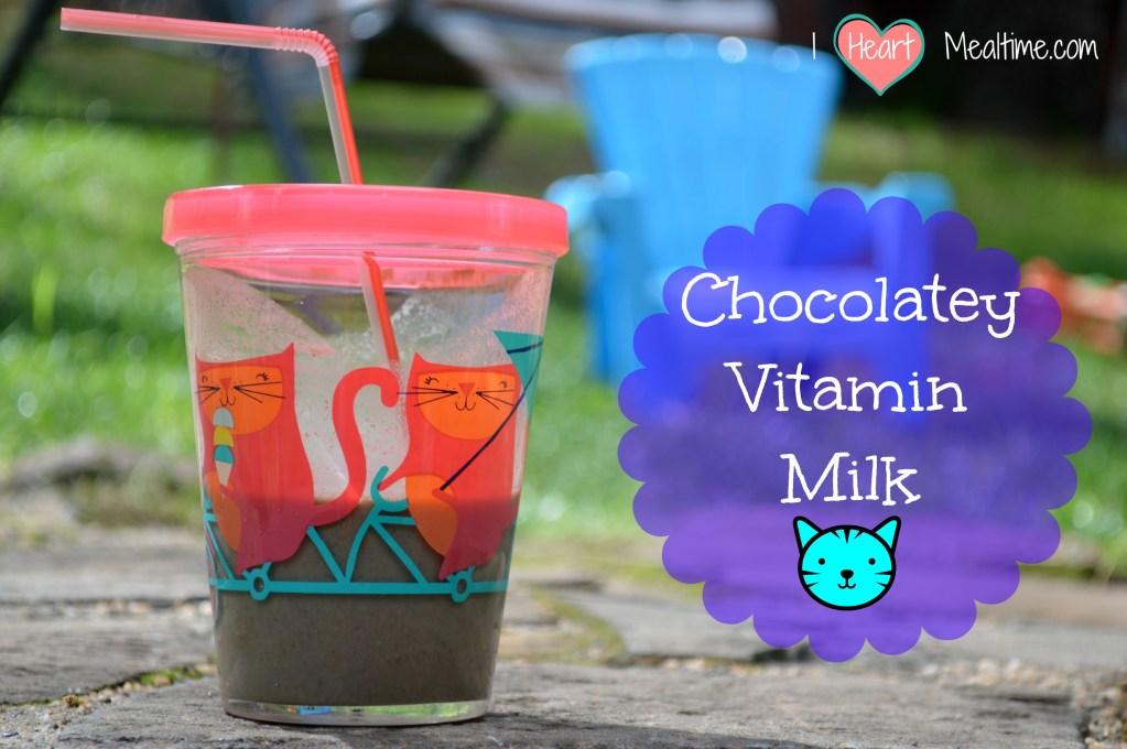 Suped-Up Vitamin Milk!