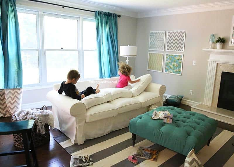 30 Day Living Room Makeover!!