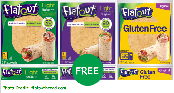 Flatout Thin Crust Flatbread coupon deal