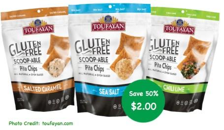 Toufayan Gluten Free Pita Chips