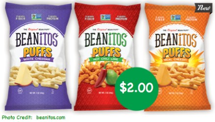 Beanitos Puffs Coupon Deal