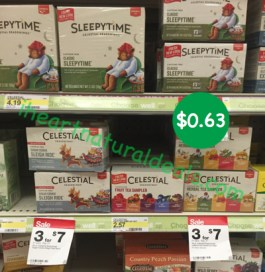 Celestial Seasonings Tea Coupon Deal