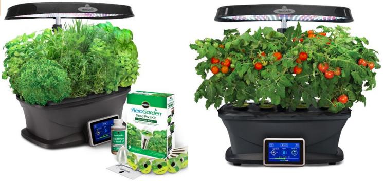 LOWEST PRICE EVER MiracleGro AeroGarden Indoor Garden with Herb