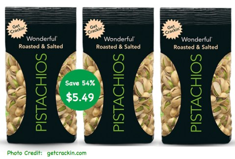 Wonderful Pistachios Coupon Deal