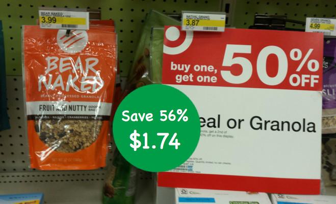 Bear Naked Granola Coupon Deal