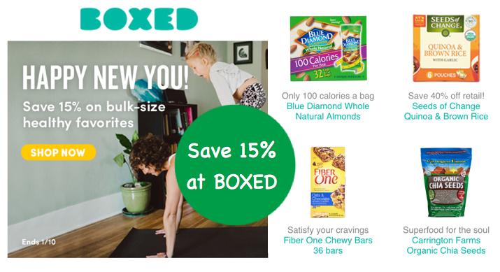 Boxed.com Promo