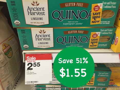 Ancient Harvest Gluten Free Quinoa Pasta Coupon Deal
