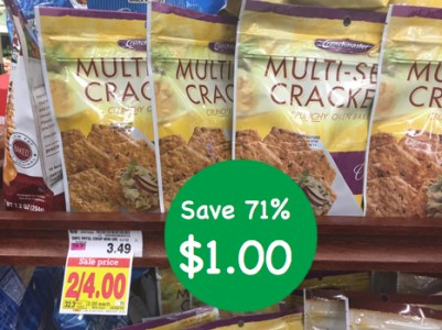 Crunchmaster Multi-Seed Crackers Coupon Deal