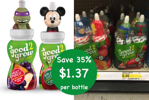 good2grow Juice Coupon Deal