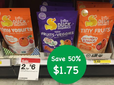 Little Duck Organic Fruit Snacks Coupon Deal