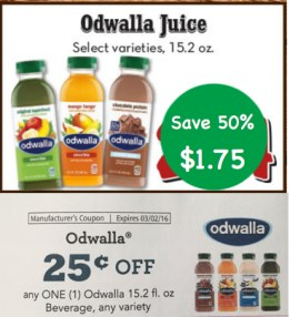 Odwalla Juice Smoothie Blend Coupon Deal