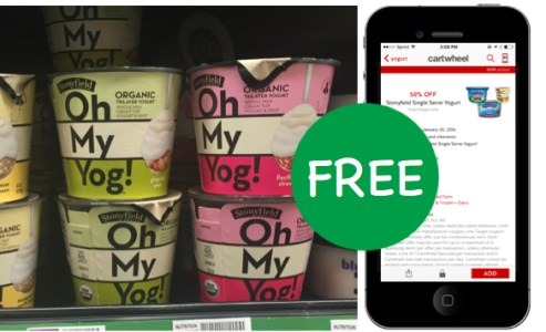 Stonyfield Oh My Yog! Organic Yogurt Coupon