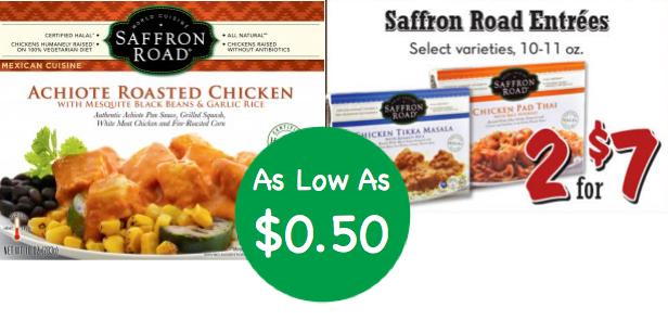 Saffron Road Frozen Entrees Coupon Deal