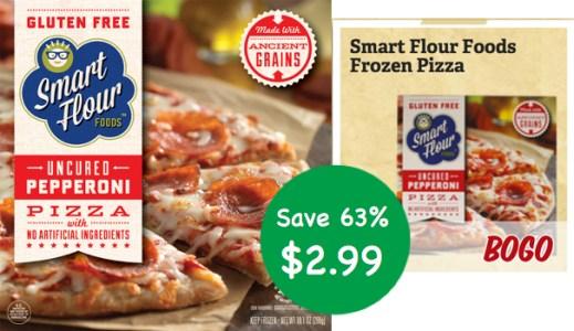 Smart Flour Foods Gluten Free Pizza Coupon Deal