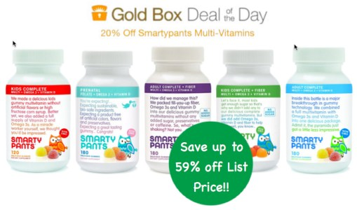 Smartypants Multi-Vitamins