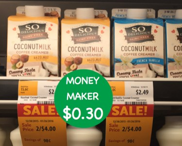 So Delicious Coconut Milk Coffee Creamer Coupon Deal