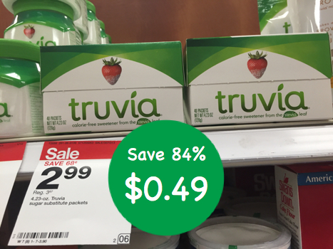 Truvia All Natural Sweetener Coupon Deal