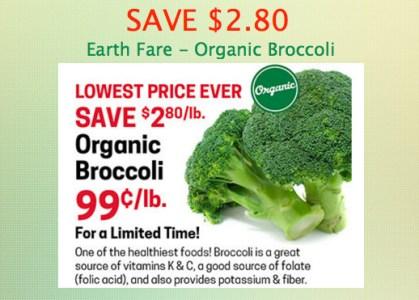 Organic Broccoli Sale