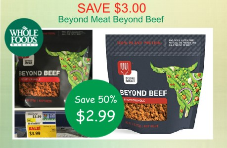 Beyond Meat Beyond Beef coupon deal
