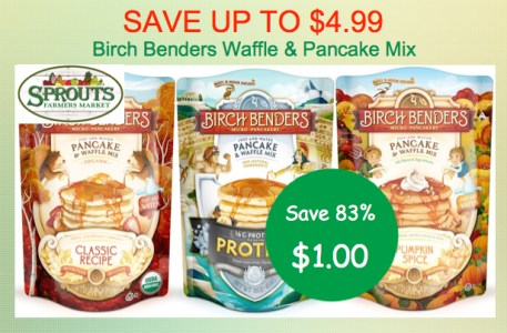 Birch Benders Pancake and Waffle Mix Coupon Deal