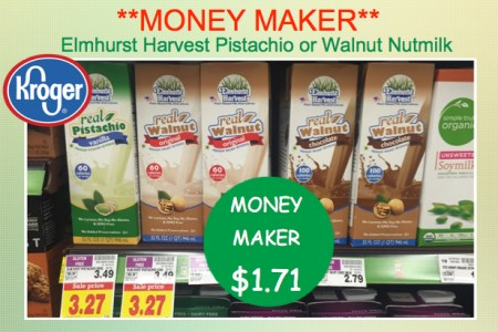 Elmhurst Harvest Real Walnut Non-Dairy Nutmilk Coupon Deal