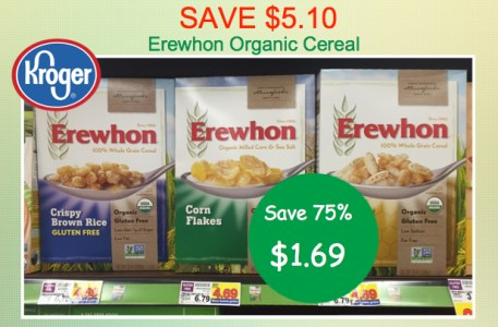 Erewhon Organic Cereal Coupon Deal