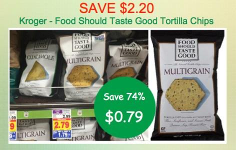 Food Should Taste Good Coupon Deal