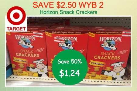 Horizon Snack Crackers Coupon Deal